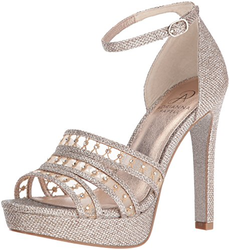 Adrianna Papell Robe Plate-forme Morgan Femme Sandal Platino