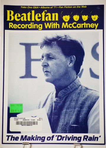 - 2001 - Dec - The Goody Press - Beatlefan Magazine - Recording with McCartney - The Making of 'Driving Rain' - Yoko Ono Q&A - 32 Pages - New - Out of Print - Limited Edition - Collectible