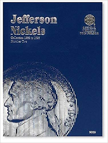 [0307090396] [9780307090393] Jefferson Nickels Folder 1962-1995 (Official Whitman Coin Folder) – Hardcover
