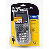 Texas Instruments TI-84 Plus Silver Edition Graphing Calculator (Renewed)