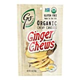 Go Organic Ginger Chewy Candy, 3.5 Ounce - 6 per case.