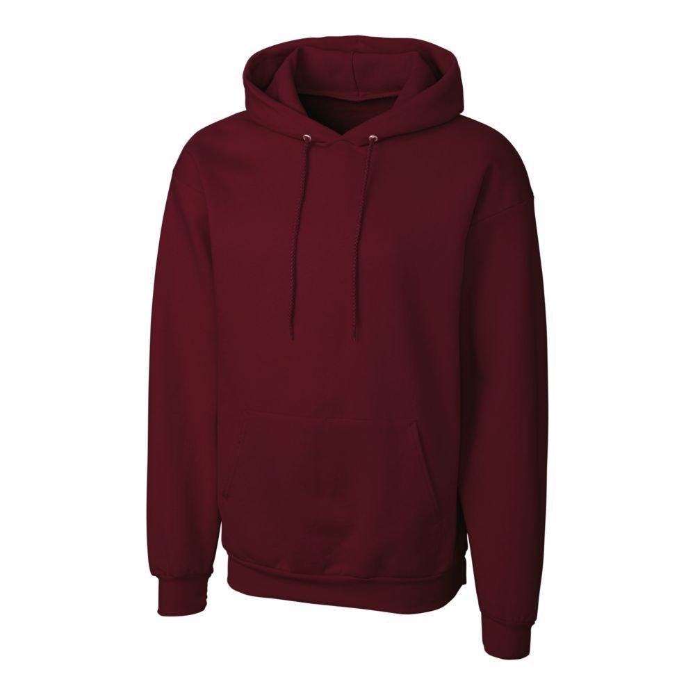Clique MRK02002 Mens Basics Fleece P//O Hoodie XXXL Maroon