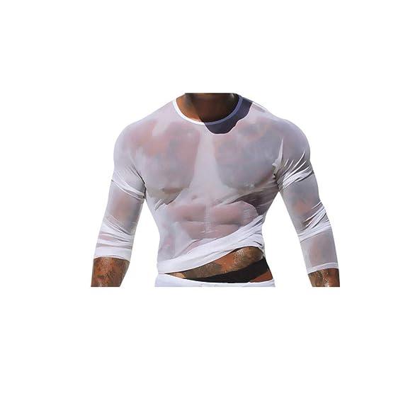 Men O-Neck Sport Slimming Cotton Printing Short-Sleeved T-shirt Tops Blouse US