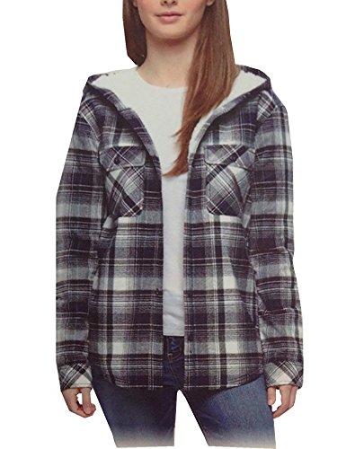 Flannel Sweatshirt - 8
