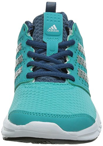 adidas Madoru W - Zapatillas de running para mujer, color azul / plata / blanco