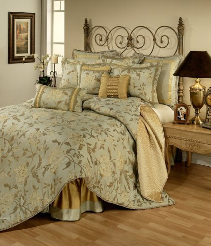 Austin Horn Classics Savoy Bedding Collection, 4-Piece, Queen
