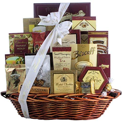 GreatArrivals Finer Things Gourmet Thank You Gift Basket 9 Pound [並行輸入品] B07N4LR8WC