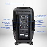 LyxPro 12 Inch Active PA Rechargeable Battery