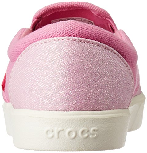 crocs Unisex-Kinder Citilane Slip-on Sneaker Kids Low-Top Pink (Carnation/Party Pink)