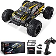 BEZGAR 1 Hobbyist Grade 1:10 Scale Remote Control Truck, 4WD High Speed 42 Km/h All Terrains Electric Toy Off