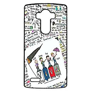 Britpop/Alternative Rock Band Coldplay Perfect Cover Shell Unique Comic Character Viva Rock Music Band Coldplay Phone Case Cover for LG G4