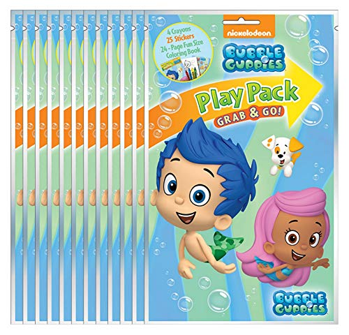 Bubble Guppies Grab & Go Play Packs (Pack of 12)]()