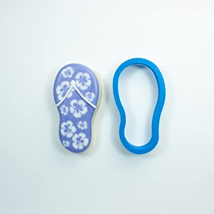 c0c623ab51df7 Image Unavailable. Image not available for. Color  Frosted Cookie Cutters  Single Flip Flop ...