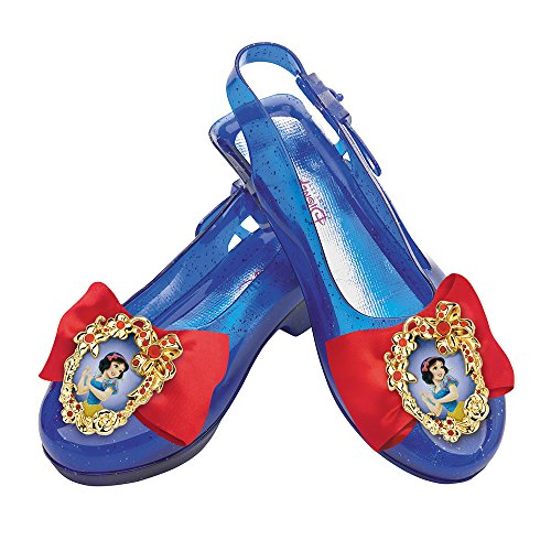 [Disguise Disney Princess Snow White Sparkle Shoes] (Costumes Shoes For Kids)