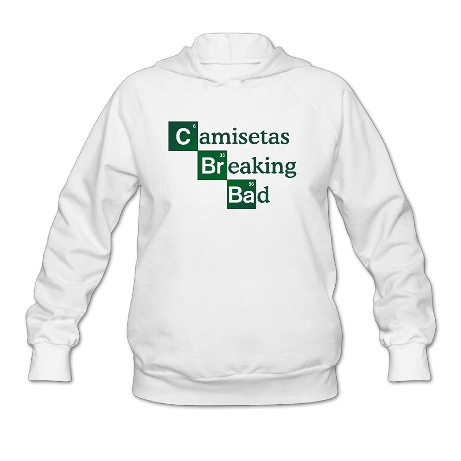 Amazon.com: Lucy Jim Womens Camisetas Breaking Bad Pullover Hooded Sweatshirt White: Clothing