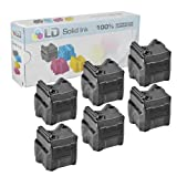 LD © Xerox Phaser 8560 Compatible Black (6 pack) 108R00727 Solid Ink ColorStix Cartridge, Office Central