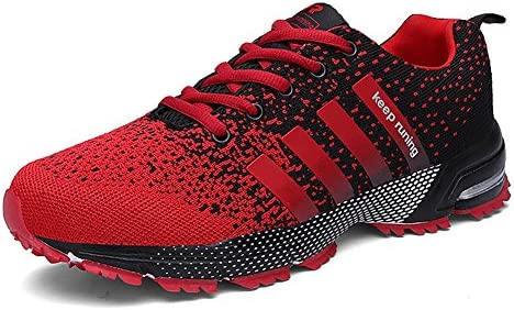 Topteck Mens Running Shoes Fashion Athletic Sneakers Outdoor Casual Shoes Trail Walking Gym Tenni