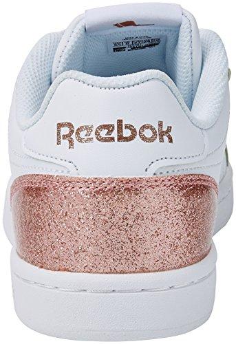 Tennisschuhe Complete Mädchen Cln Whiterose Elfenbein Royal Reebok Gold Sparkle wOqIzn