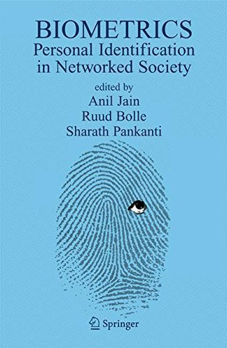 Biometrics: Personal Identification in Networked Society (The Springer International Series in Engineering and Computer Science) Pdf