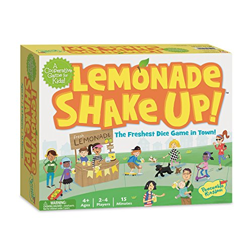 Peaceable Kingdom/ Lemonade Shake Up! A Cooperative Game for Kids ()