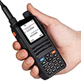 Ham Radio Transceiver CP-2000 Dual Band VHF&UHF 136-174MHz&400-520MHz 128 channels 5 Watt Long Range Large Display Two Way Walkie Talkie