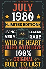 July 1980 Limited Edition Living Legend Very Rare Wild at Heart Filled with Love 100% Original Built to Last:
