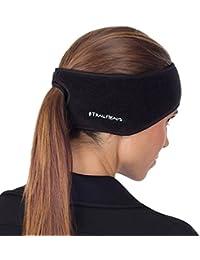 Women's Ponytail Headband | Fleece Earband | Winter Running Headband