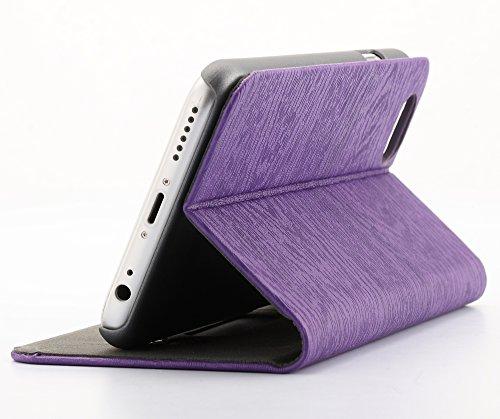 """Torras """"Forêt"""" Case Ultra-mince flip Faux étui en cuir de peau de protection pour Apple iPhone 6 Plus / Plus 6s avec poche pour"""