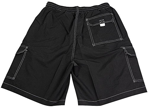 707326157d NORTY Mens Swim Trunks - Watershort Swimsuit - Cargo Pockets - Drawstring  Waist - Buy Online in Oman. | Misc. Products in Oman - See Prices, ...
