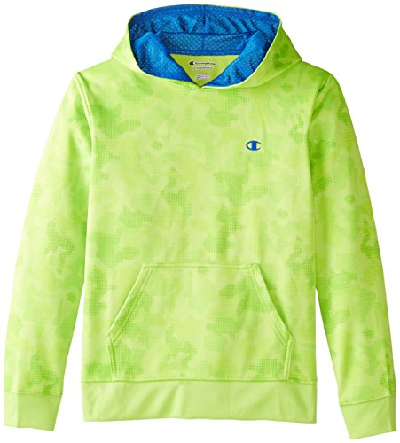 Champion Boys Pullover Hoodie Limon product image