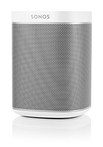 Sonos PLAY:1 All-In-One Wireless Speakers with Flexson Premium Floor Stands - Pair (White) by Sonos (Image #4)