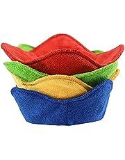 4 PCS Microwave Safe Bowl Holder, Bowl Huggers, Heat Resistant Plate Hugger for Soup, Rice and Pasta Bowls, Multi Color