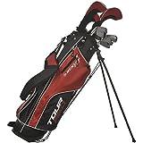 Dunlop Tour Red Golfset Graphit/Stahl 16-tlg.