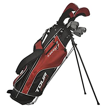 ceda704263 Dunlop Tour Red Golf Club Set Graphite/Steel 16 Pieces Silver silver ...