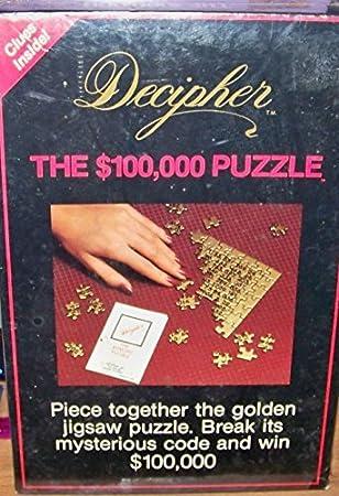 Image of Decipher jigsaw
