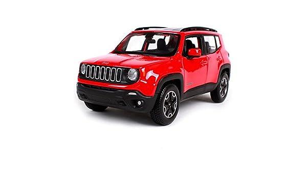 Amazon Maisto 124 2017 Jeep Renegade Red Diecast Model Car