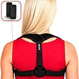 Back Posture Corrector for Women Men - Primate Posture Brace - Back Straightener - Shoulder Brace - Upper Back Brace Posture Support - Kyphosis Scoliosis Trainer Strap - Effective and Comfortable