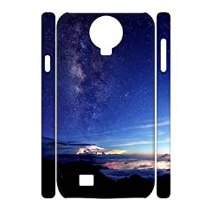 SamSung Galaxy S4 I9500 3D Personalized Phone Back Case with Starry starry night Image