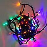 LEDwholesalers Mult Color Changing RBG 100 LED Christmas Light string 2021