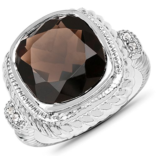 7.15 Carat Genuine Smoky Quart