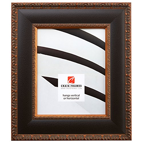 - Craig Frames Galerie, Antique Gold and Black Picture Frame, 20 by 30-Inch