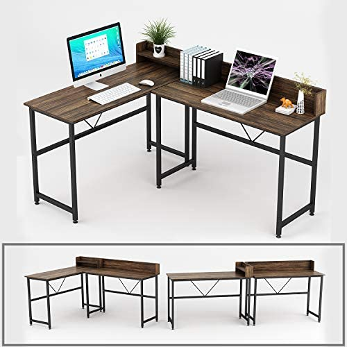 Umekesa L Shaped Computer Desk