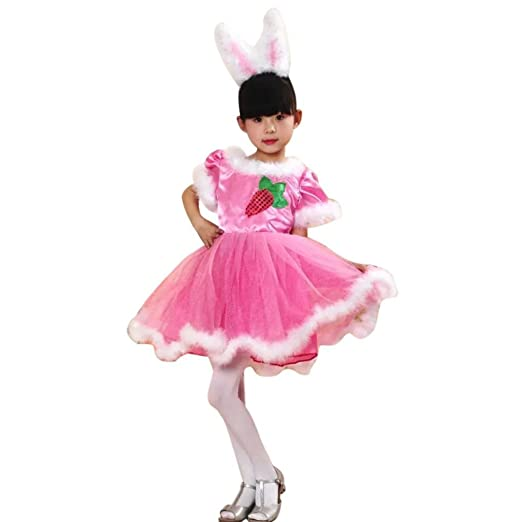 Amazon Com Foutou S Kids Girls Christmas Outfits Costume Party