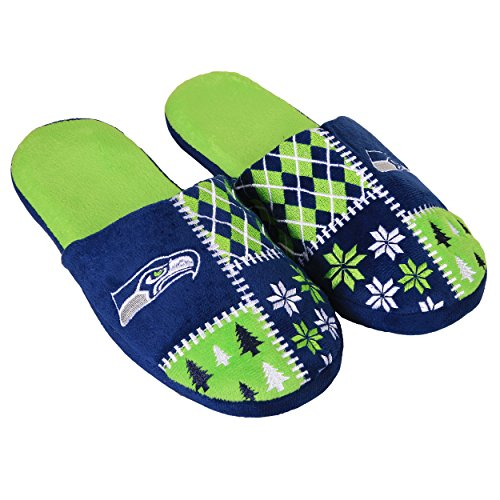 FOCO Seattle Seahawks Ugly Slide Slipper Extra Large by FOCO