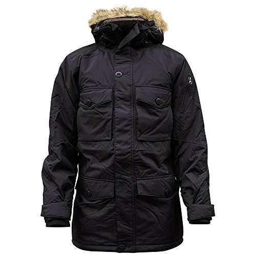 Dickies Salt Lake Parker Jacket Black by Dickies