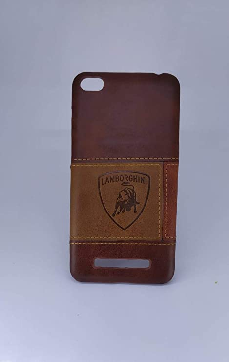 huge selection of 7ff58 8f844 Delight India MI A4 Leather Back Cover Slim Feet with: Amazon.in ...