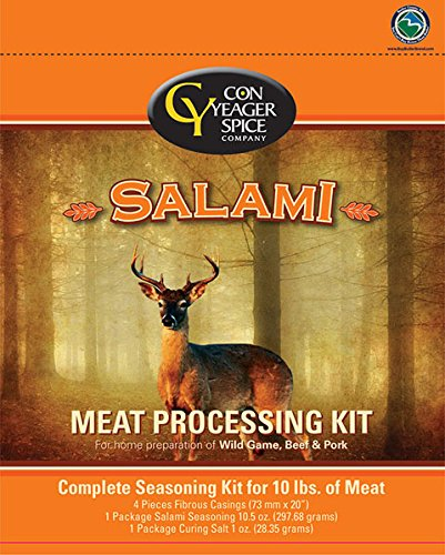 (Salami Meat Processing Kit)