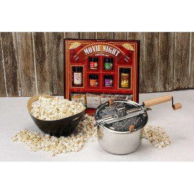 Whirley 3 Piece Stainless Steel Movie Night Package Set