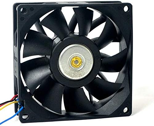 Original for delta FFB0812SH 808025mm 12V 0.60A 4-wire pwm 67cfm high volume booster cooling fan