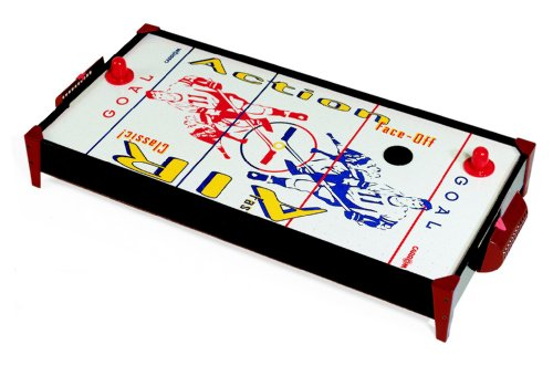 Face Off Air Hockey Tabletop (Carrom Face-Off Air Powered Hockey Table)